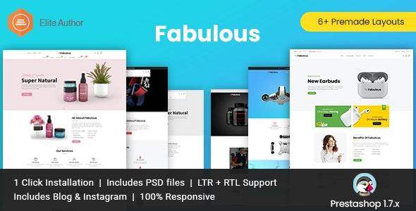 Fabulous - Multipurpose Prestashop Theme - PrestaShop eCommerce