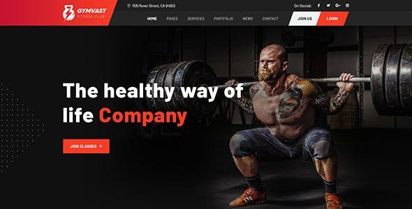 Gemvast - Gym Fitness Club Multipage, Onepage WordPress Theme