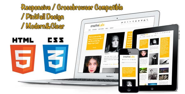 PinWall HTML5 and CSS3 Responsive Template - Creative Site Templates