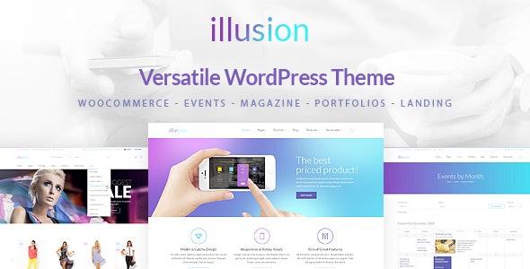 illusion - Multipurpose Corporate and Woocommerce Theme - WooCommerce eCommerce