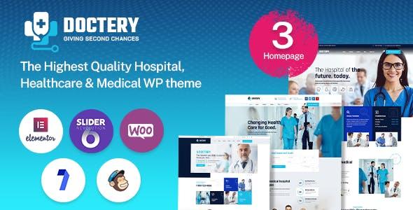 Doctery - Hospital and Healthcare WordPress Theme