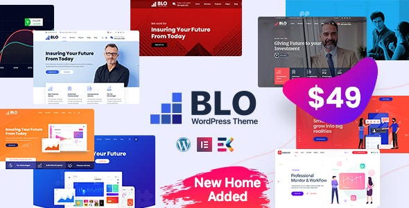 BLO - Corporate Business WordPress Theme - Business Corporate