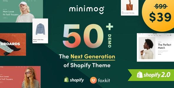 Minimog v1.0 – The Next Generation Shopify Theme