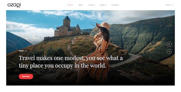 Ozagi - Personal Blog HTML Template