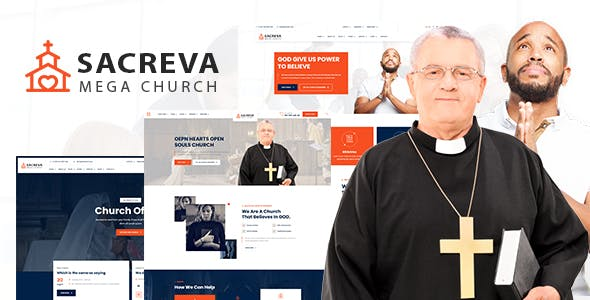 Sacreva - Church & Nonprofit Html5 Template