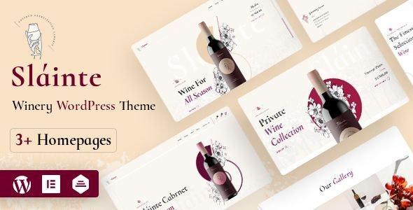 Slainte -  Winery & Wine Store WooCommerceTheme - WooCommerce eCommerce