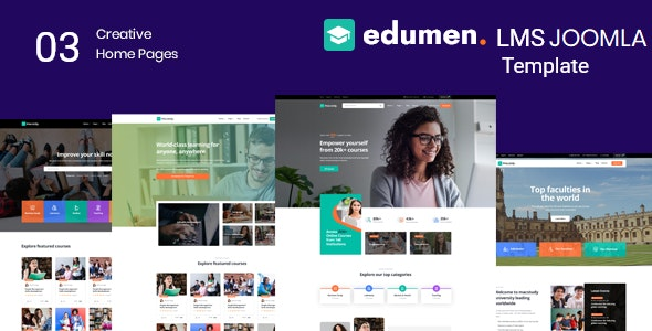 Edumen – Education Joomla 4 Template With Page Builder - Business Corporate