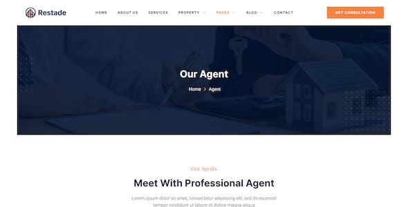 Restead – Real Estate & Property Elementor Template Kit