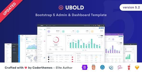 Ubold v5.2 – Admin & Dashboard Template
