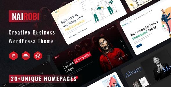 Nairobi - Creative Business WordPress Theme - Business Corporate