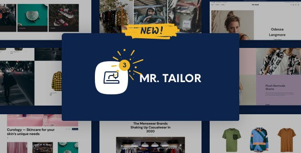 Mr. Tailor - eCommerce WordPress Theme for WooCommerce