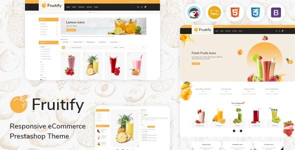 Fruitify - Juice PrestaShop Theme - Health & Beauty PrestaShop