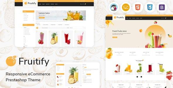 Fruitify - Juice PrestaShop Theme