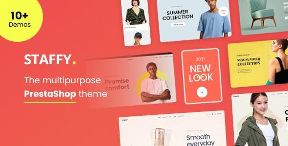 Staffy - The Multipurpose eCommerce Prestashop Theme