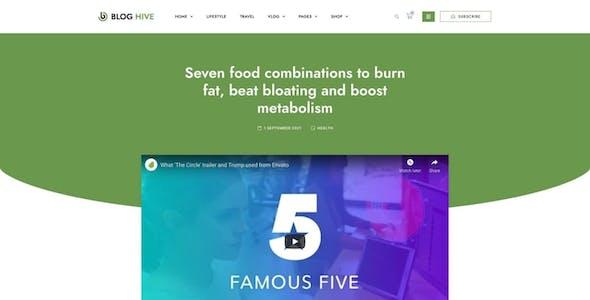 Blog Hive - Personal Blog Elementor Template Kit