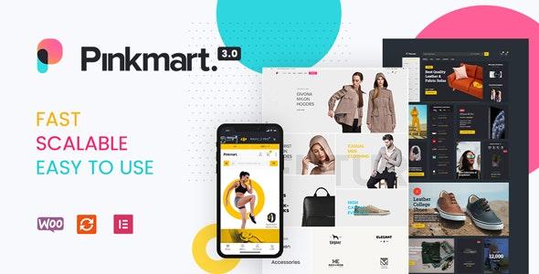 Pinkmart v3.0.6 – AJAX theme for WooCommerce