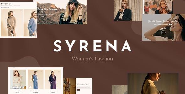 Syrena - MultiPurpose Fashion Responsive Shopify Theme