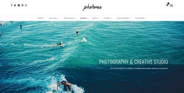 PhotoMe | Photography Portfolio WordPress