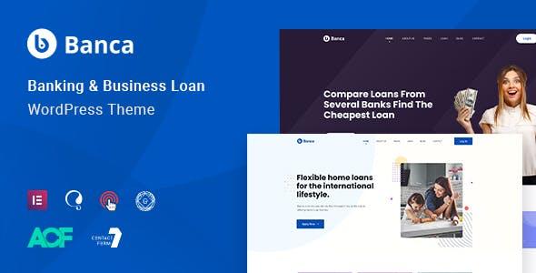 Banca - Banking & Business LoanWordPress Theme