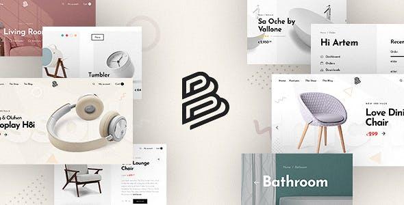 Barberry - Modern WooCommerce Theme
