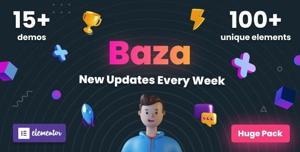 Baza v1.1.2 – Creative MultiPurpose WordPress Theme