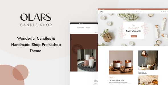 Leo Olars - Candles And Handmade Shop Prestashop Theme - PrestaShop eCommerce