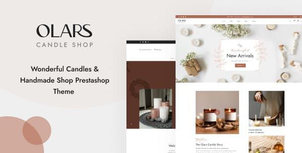 Leo Olars - Candles And Handmade Shop Prestashop Theme