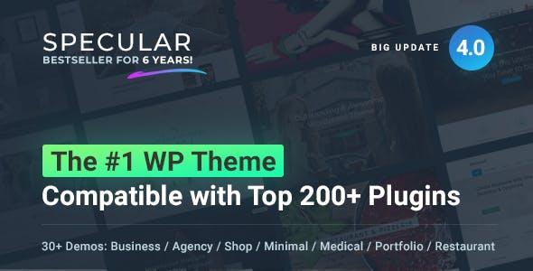 Specular - Business WordPress Multi-Purpose
