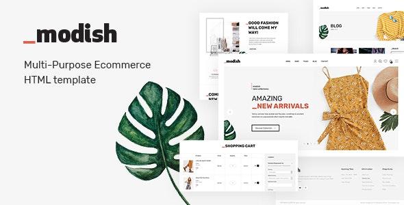 Modish - Modern & Multipurpose Fashion Store HTML Template - Fashion Retail