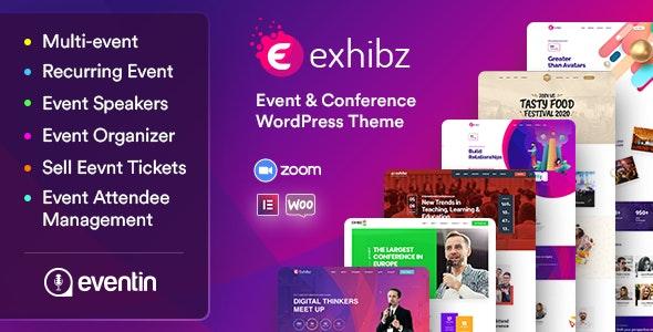 Exhibz v2.3.4 – Event Conference WordPress Theme