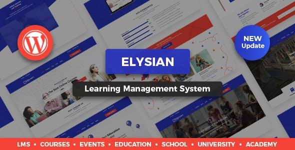Elysian - WordPress School Theme + LMS