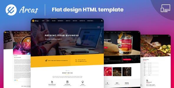 Arcas  |  Multipurpose HTML5  Template