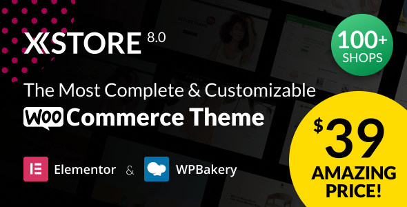 XStore |  Multipurpose WooCommerce Theme & WordPress - WooCommerce eCommerce