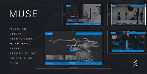 Muse — Music WordPress Theme
