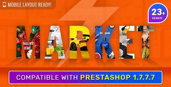 Market - Responsive Multipurpose PrestaShop 1.6 and 1.7 Theme