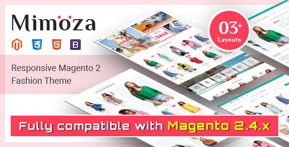 Mimoza - Fashion Responsive Magento 2 Theme