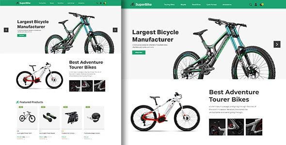 SuperBike - Bicycle Magento Theme - Shopping Magento
