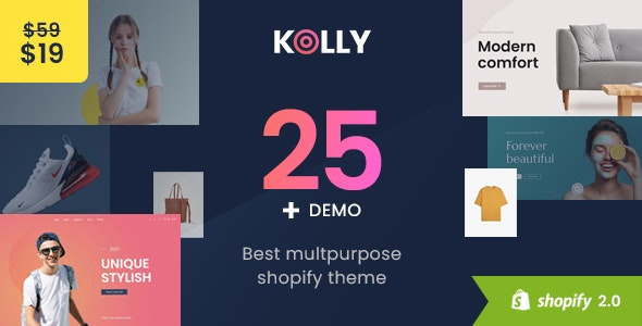Kolly- Best Multipurpose Shopify Theme - Fashion Shopify