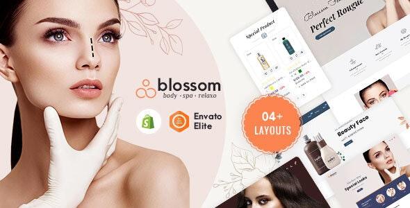 Blossom - Shopify Multi-Purpose Responsive Theme - Health & Beauty Shopify