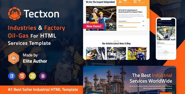 Tectxon - Industry & Factory HTML5 Template