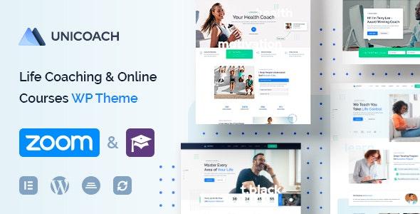 UniCoach - Multipurpose UpSkill WordPress Theme - Education WordPress