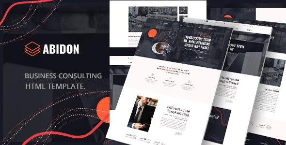 Abidon - Business Consulting HTML Template. - Business Corporate