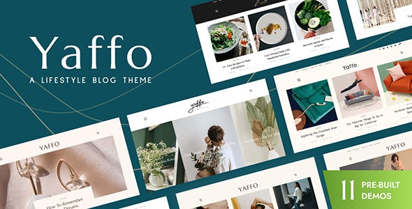 Yaffo - A Lifestyle Personal Blog WordPress Theme