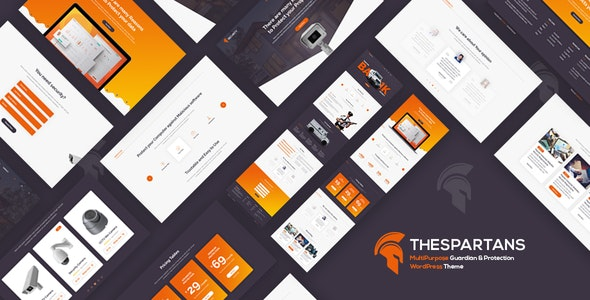 TheSpartans – Security Guards Theme - Business Corporate