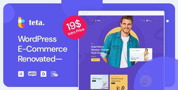 Teta - WooCommerce WordPress theme - WooCommerce eCommerce