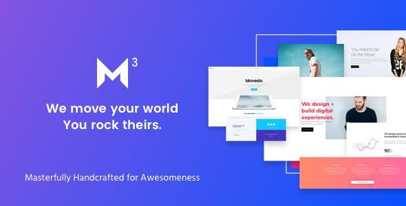 Movedo - Responsive Multi-Purpose WordPress Theme