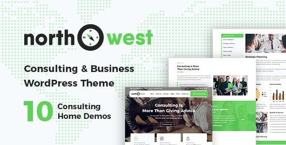 Northwest - Consulting WordPress Theme - Business Corporate