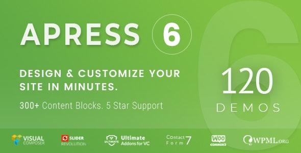 Apress v6.0.2 – Responsive Multi-Purpose Theme