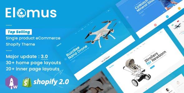 Elomus Shop - Single Product Shopify Theme
