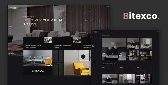 Bitexco - Creative Interior Elementor Template Kit